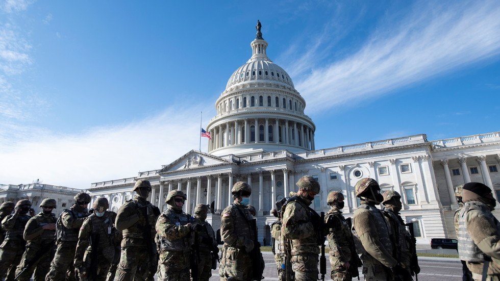 White, male, Trump-voting troops MAY BETRAY Biden at inauguration, Dem Congressman suggests, in prediction even CNN finds crazy