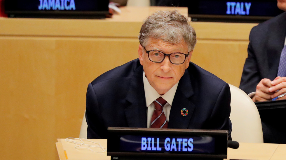 Bill Gates receives Covid-19 vaccine two days after Biden sworn in despite questioning if FDA can be trusted with jab under Trump